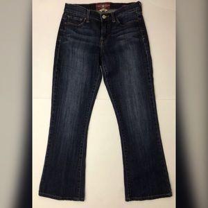 Lucky Brand Sofia Boot Women's Blue Jeans